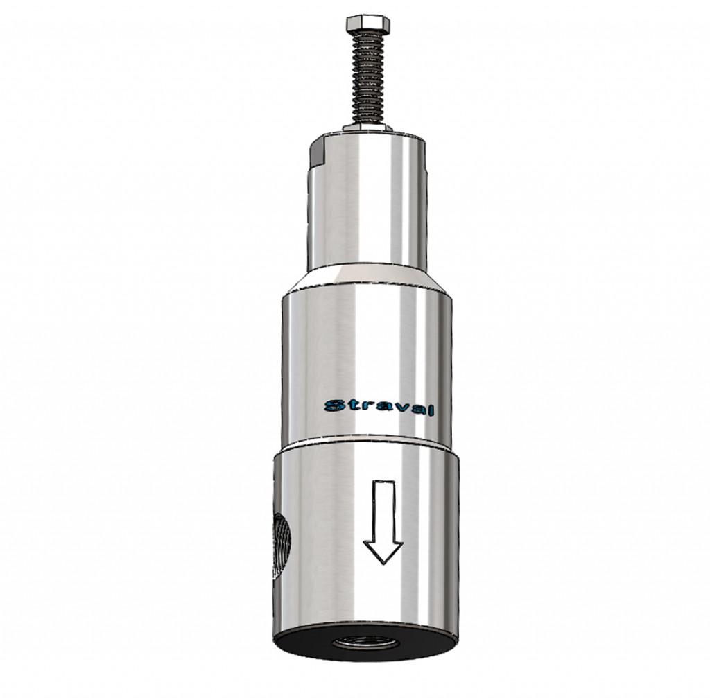 StraVal PRH-04 Stainless Steel High Pressure Regulator